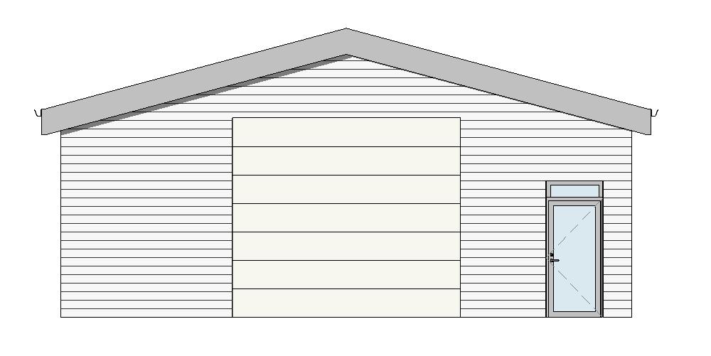 17-24 10×20 – Elevation – Austur