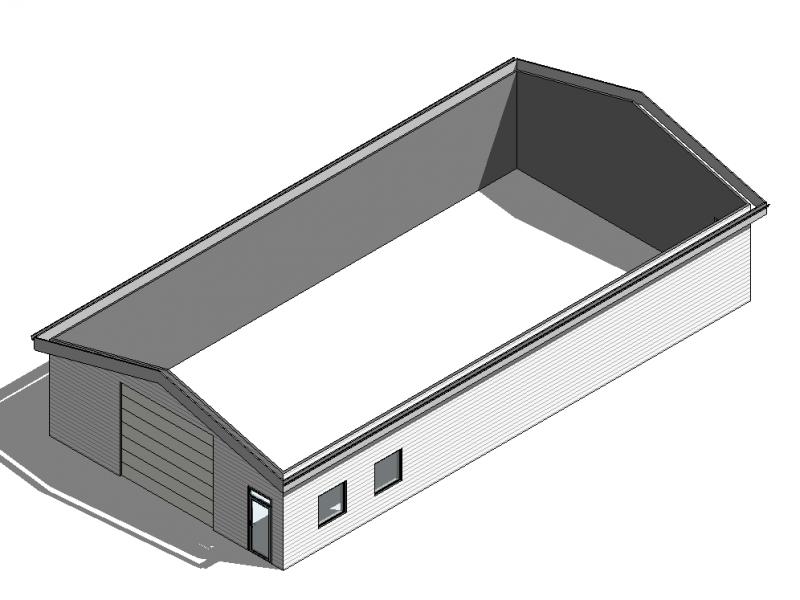 17-24 10×20 – 3D View – 3D – 2